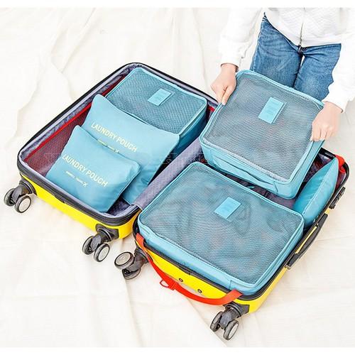 Combo 6 túi đựng đồ du lịch Pouch