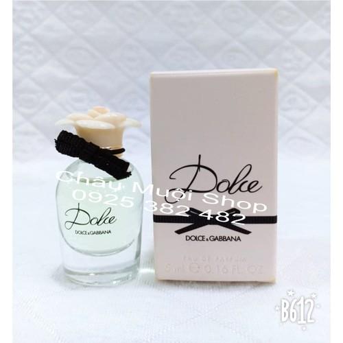 Nước Hoa Mini Dolce For women Dolce & Gabbana - 5ml-1 Chai