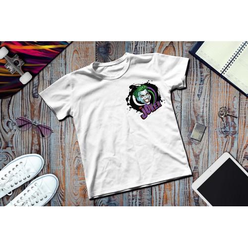 Áo thun in hình logo the Joker