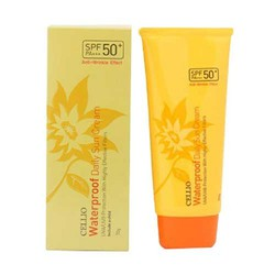 Kem Chống Nắng Cellio Waterproof Daily Sun Cream SPF50 PA+++ - Hàn Quốc