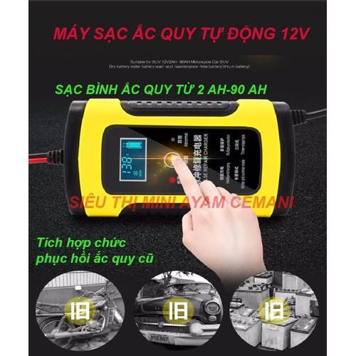 Máy sạc ắc quy tự động 12V- sạc ắc quy 12v - khử sunfat giá siêu tốt - 7950137 , 17613599 , 15_17613599 , 465000 , May-sac-ac-quy-tu-dong-12V-sac-ac-quy-12v-khu-sunfat-gia-sieu-tot-15_17613599 , sendo.vn , Máy sạc ắc quy tự động 12V- sạc ắc quy 12v - khử sunfat giá siêu tốt