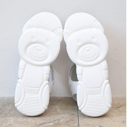 Giày sandal bánh mì sneaker đế gấu Mos.chi.no |Giày sandal bánh mì nữ 3