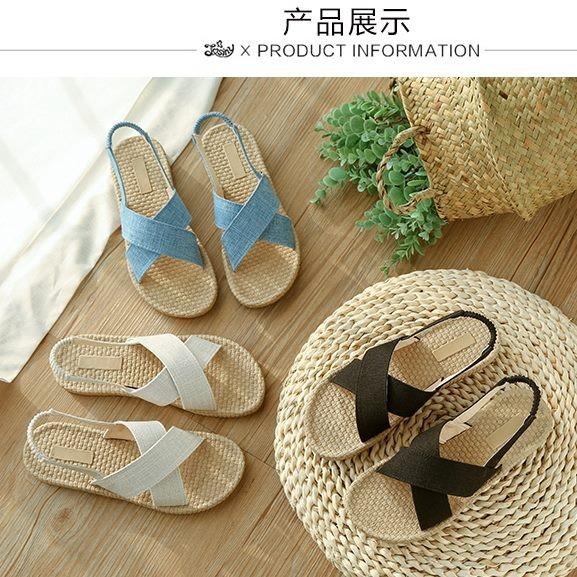 Giày sandal giả cối quai chéo  Giày sandal thời trang nữ 4
