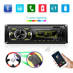 Máy nghe nhạc MP3 Âm thanh Bluetooth ô tô xe tải 12V MP3 WMA WAV USB FM RK 538