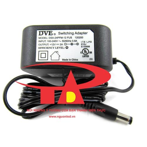 Nguồn adapter 12V 2A DVE, loại tốt, giá rẻ, chất lượng dùng cấp nguồn DC12V cho đèn led dây, bơm nước mini, led thanh, camera, đầu ghi hình, board mạch điện tử, mua tại shopledvinhtien - 7951030 , 17614896 , 15_17614896 , 88000 , Nguon-adapter-12V-2A-DVE-loai-tot-gia-re-chat-luong-dung-cap-nguon-DC12V-cho-den-led-day-bom-nuoc-mini-led-thanh-camera-dau-ghi-hinh-board-mach-dien-tu-mua-tai-shopledvinhtien-15_17614896 , sendo.vn , Nguồn