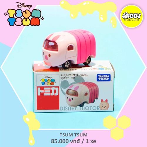 Xe mô hình Disney Tomica Tsum Tsum Winnie The Pooh - Piglet