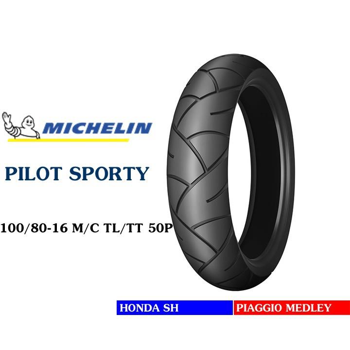 Lốp MICHELIN 100.80-16 PILOT SPORTY MC TL 50P Vỏ xe máy MICHELIN size 100.80-16 PILOT SPORTY MC TL 50P Việt Nam, giá rẻ, uy tín 1