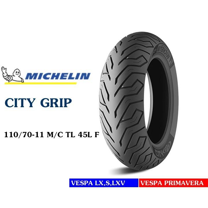 Lốp MICHELIN 110.70-11 CITY GRIP MC TL 45L Vỏ xe máy MICHELIN size 110.70-11CITY GRIP MC TL 45L Việt Nam, giá rẻ, uy tín 2