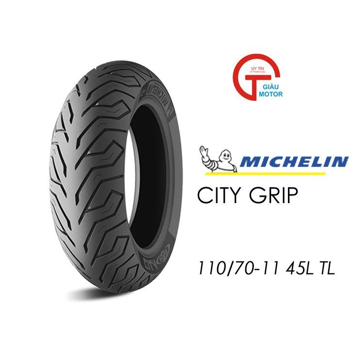 Lốp MICHELIN 110.70-11 CITY GRIP MC TL 45L Vỏ xe máy MICHELIN size 110.70-11CITY GRIP MC TL 45L Việt Nam, giá rẻ, uy tín 1