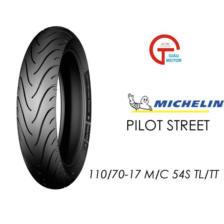 Lốp MICHELIN 110.70-17 PILOT STREET MC TL 54S Vỏ xe máy MICHELIN size 110.70-17 PILOT STREET MC TL 54S Việt Nam, giá rẻ, uy tín 1