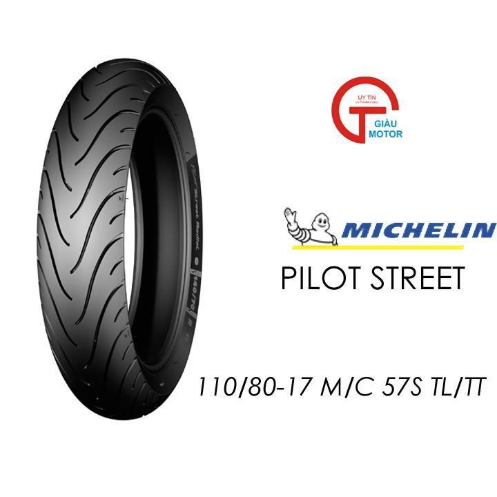 Lốp MICHELIN 110.80-17 PILOT STREET MC TL 57S  Vỏ xe máy MICHELIN size 110.80-17 PILOT STREET MC TL 57S  Việt Nam, giá rẻ, uy tín 1
