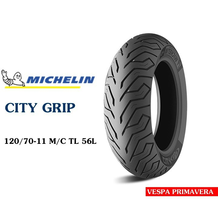 Lốp MICHELIN 120.70-11 CITY GRIP MC TL 56L Vỏ xe máy MICHELIN size 120.70-11 CITY GRIP MC TL 56L  Việt Nam, giá rẻ, uy tín 2