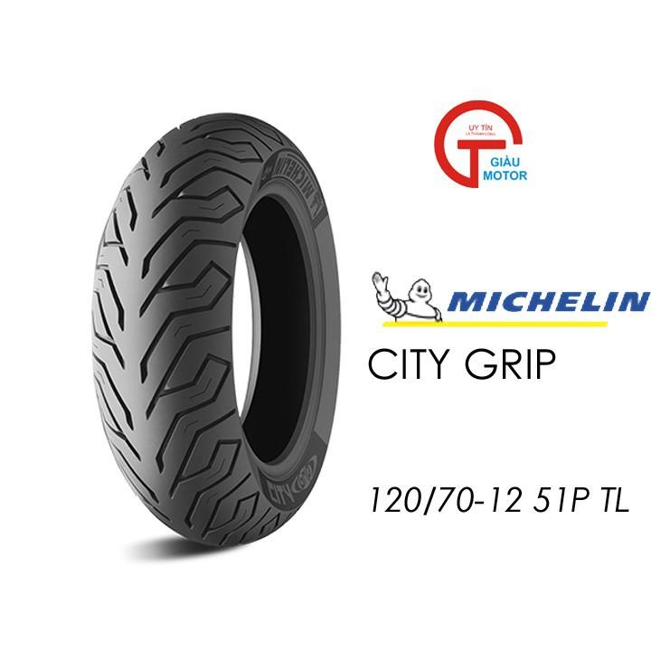 Lốp MICHELIN 120.70-12 CITY GRIP MC TL 51L Vỏ xe máy MICHELIN size 120.70-12 CITY GRIP MC TL 51L Việt Nam, giá rẻ, uy tín 1