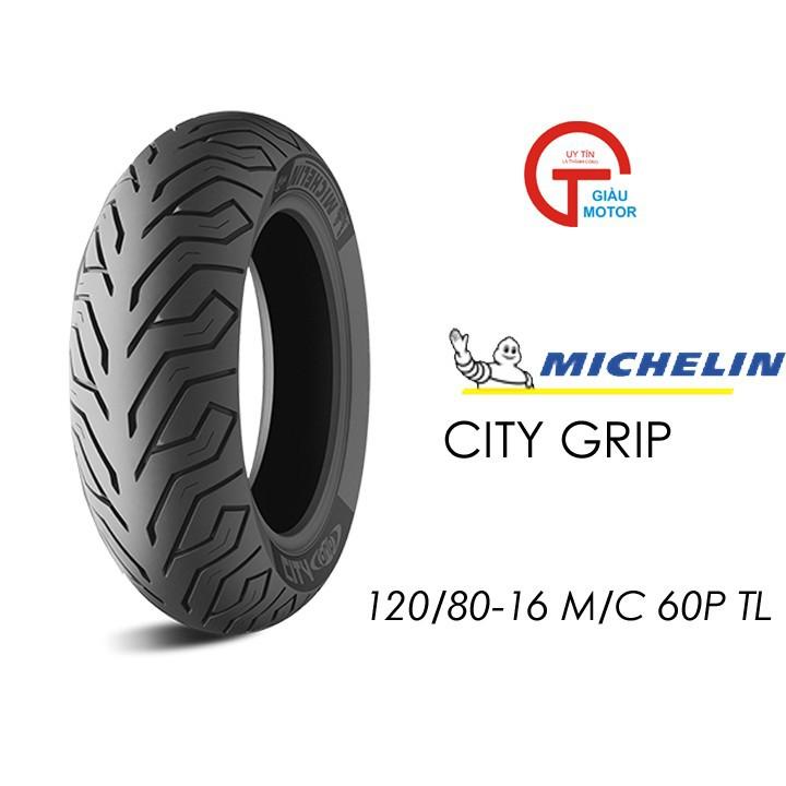 Lốp MICHELIN 120.80-16 CITY GRIP MC TL 60P Vỏ xe máy MICHELIN size 120.80-16 CITY GRIP MC TL 60P Việt Nam, giá rẻ, uy tín 1