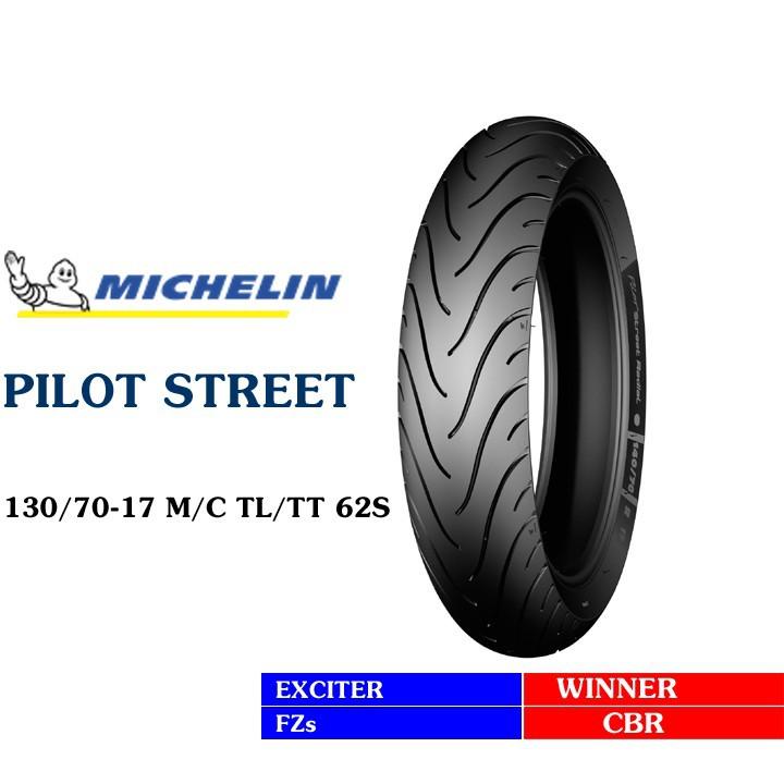 Lốp MICHELIN 130.70-17 PILOT STREET MC TL 62S  Vỏ xe máy MICHELIN size 130.70-17 PILOT STREET MC TL 62S  Việt Nam, giá rẻ, uy tín 4