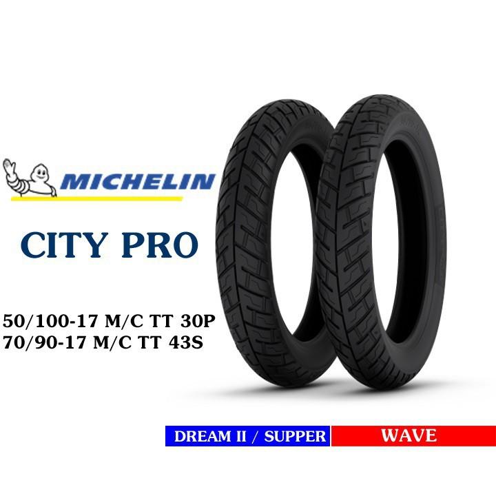 Lốp MICHELIN 50.100-17 CITY PRO MC TT 30P Vỏ xe máy MICHELIN size 50.100-17 CITY PRO MC TT 30P Việt Nam, giá rẻ, uy tín 4