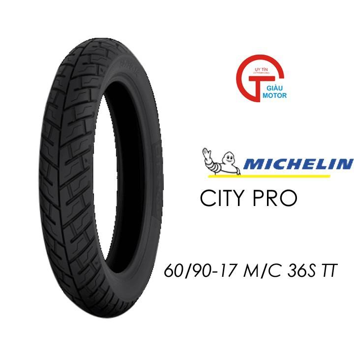 Lốp MICHELIN 60.90-17 CITY PRO MC TT 36S Vỏ xe máy MICHELIN size 60.90-17 CITY PRO MC TT 36S Việt Nam, giá rẻ, uy tín 1