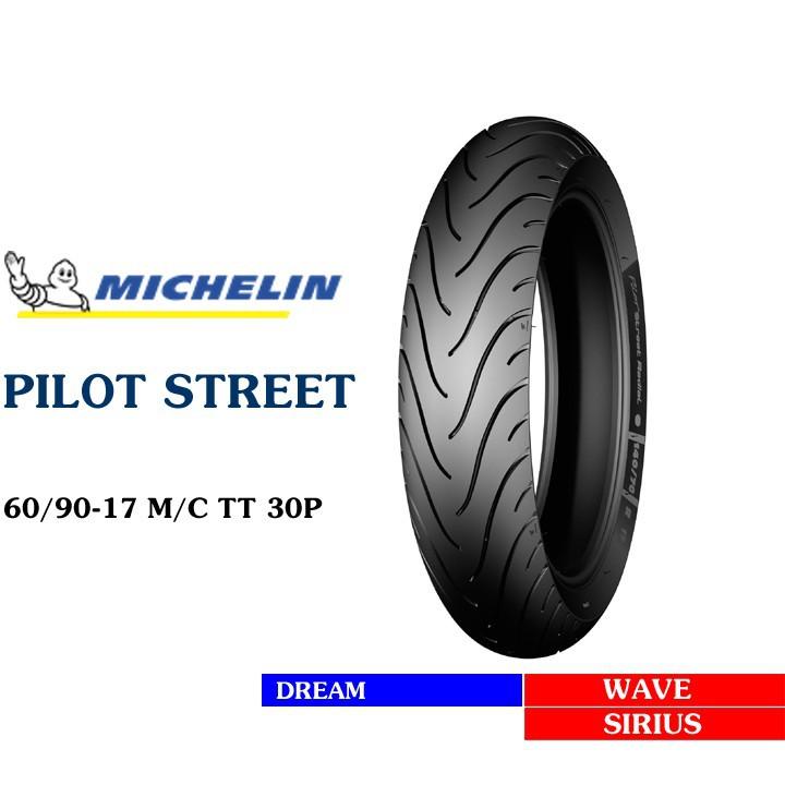 Lốp MICHELIN 60.90-17 PILOT STREET MC TL 30S Vỏ xe máy MICHELIN size 60.90-17 PILOT STREET MC TL 30S  Việt Nam, giá rẻ, uy tín 3