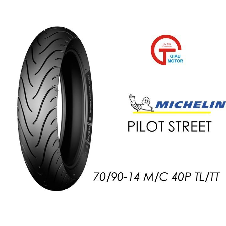 Lốp MICHELIN 70.90-14 PILOT STREET  MC TL 40P  Vỏ xe máy MICHELIN size 70.90-14 PILOT STREET MC TL 40P  Việt Nam, giá rẻ, uy tín 1