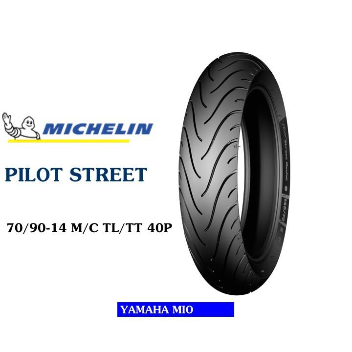 Lốp MICHELIN 70.90-14 PILOT STREET  MC TL 40P  Vỏ xe máy MICHELIN size 70.90-14 PILOT STREET MC TL 40P  Việt Nam, giá rẻ, uy tín 4