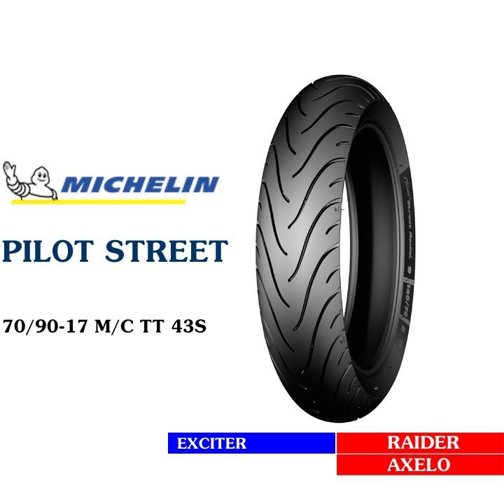 Lốp MICHELIN 70.90-17 PILOT STREET MC TT 38S Vỏ xe máy MICHELIN size 70.90-17 PILOT STREET MC TT 38S  Việt Nam, giá rẻ, uy tín 4