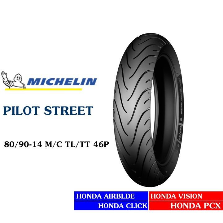 Lốp MICHELIN 80.90-14 PILOT STREET MC TL 46P   Vỏ xe máy MICHELIN size 80-90-14 PILOT STREET MC TL 46P  Việt Nam, giá rẻ, uy tín 3
