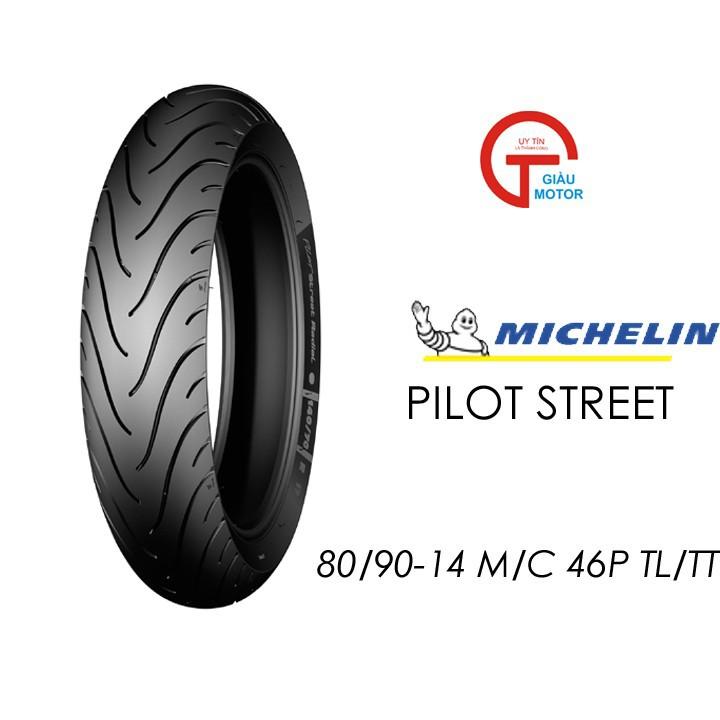 Lốp MICHELIN 80.90-14 PILOT STREET MC TL 46P   Vỏ xe máy MICHELIN size 80-90-14 PILOT STREET MC TL 46P  Việt Nam, giá rẻ, uy tín 1