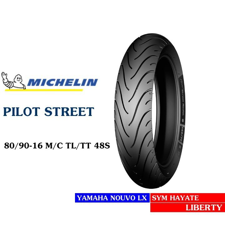 Lốp MICHELIN 80.90-16 PILOT STREET MC TL 48S Vỏ xe máy MICHELIN size 80.90-16 PILOT STREET MC TL 48S  Việt Nam, giá rẻ, uy tín 3