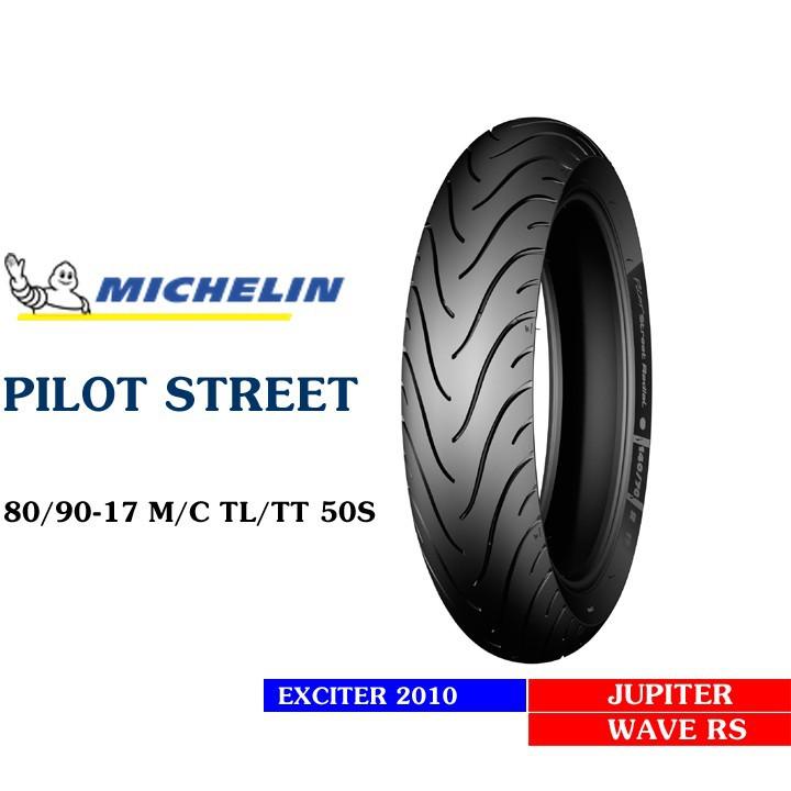 Lốp MICHELIN 80.90-17 PILOT STREET MC TL 50S Vỏ xe máy MICHELIN size 80.90-17 PILOT STREET MC TL 50S   Việt Nam, giá rẻ, uy tín 4