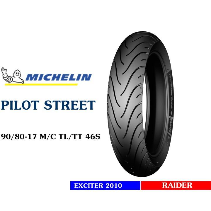 Lốp MICHELIN 90.80-17 PILOT STREET MC TL 46S Vỏ xe máy MICHELIN size 90.80-17 PILOT STREET MC TL 46S  Việt Nam, giá rẻ, uy tín 4