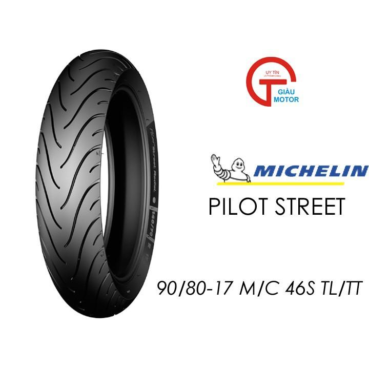 Lốp MICHELIN 90.80-17 PILOT STREET MC TL 46S Vỏ xe máy MICHELIN size 90.80-17 PILOT STREET MC TL 46S  Việt Nam, giá rẻ, uy tín 1