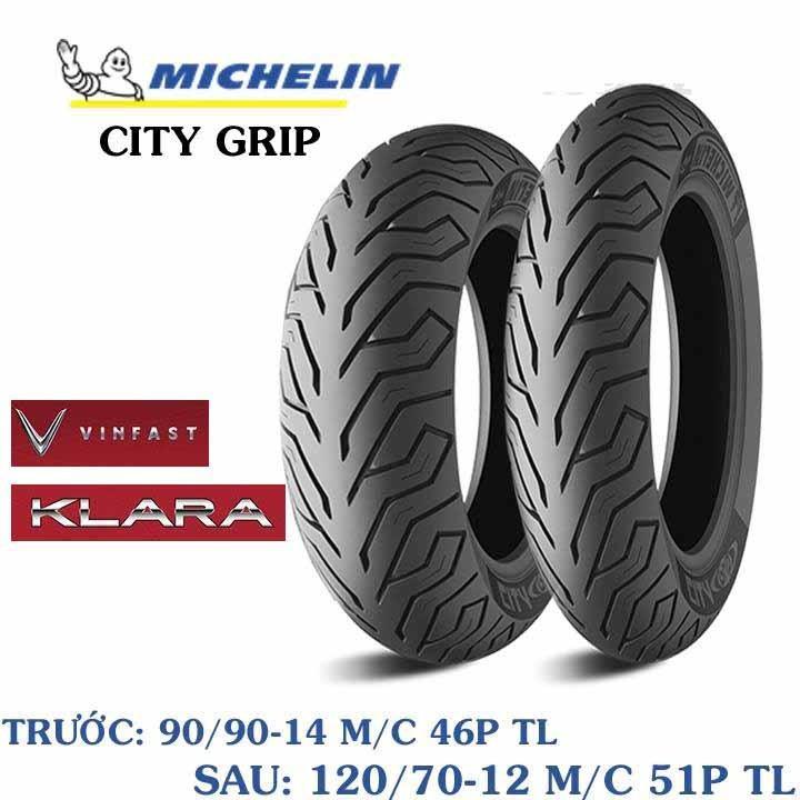 Lốp MICHELIN 90.90-14 CITY GRIP MC TL 46S Vỏ xe máy MICHELIN size 90.90-14 CITY GRIP MC TL 46S Việt Nam, giá rẻ, uy tín 2