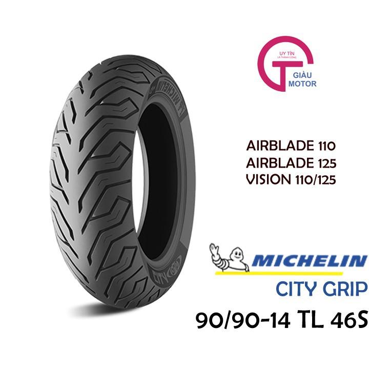 Lốp MICHELIN 90.90-14 CITY GRIP MC TL 46S Vỏ xe máy MICHELIN size 90.90-14 CITY GRIP MC TL 46S Việt Nam, giá rẻ, uy tín 1