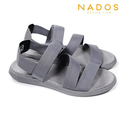 Giày Sandal Unisex NADOS Quai Chiến Binh NN01 - Xám