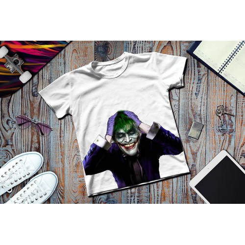 Áo thun in hình Joker ác quỷ - 7946743 , 17608003 , 15_17608003 , 59000 , Ao-thun-in-hinh-Joker-ac-quy-15_17608003 , sendo.vn , Áo thun in hình Joker ác quỷ