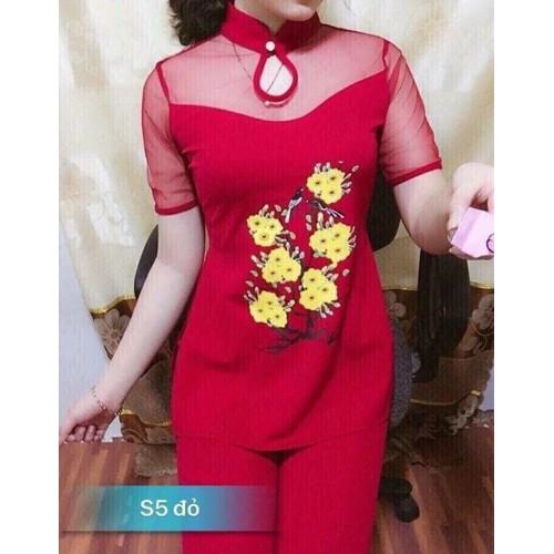 đồ bộ kiểu cách tân in hoa - 7684700 , 17610163 , 15_17610163 , 95000 , do-bo-kieu-cach-tan-in-hoa-15_17610163 , sendo.vn , đồ bộ kiểu cách tân in hoa