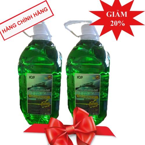 Combo 2 bình nước rửa kính ô tô siêu sạch đậm đặc INOCY 2 lít