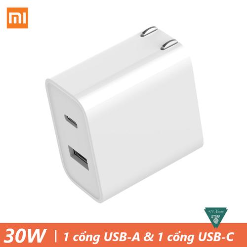 Cốc sạc nhanh type C Xiaomi 30W 1A1C - Củ sạc nhanh Xiaomi 30W Type-C - 7952272 , 17617389 , 15_17617389 , 250000 , Coc-sac-nhanh-type-C-Xiaomi-30W-1A1C-Cu-sac-nhanh-Xiaomi-30W-Type-C-15_17617389 , sendo.vn , Cốc sạc nhanh type C Xiaomi 30W 1A1C - Củ sạc nhanh Xiaomi 30W Type-C