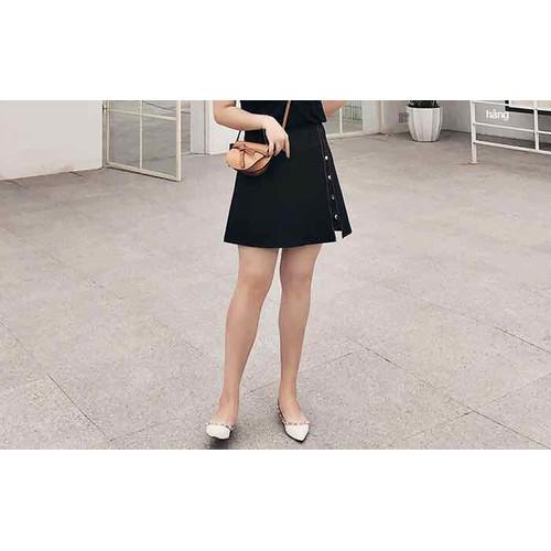 chân váy chữ A big size màu đen size 60-90kg