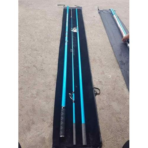 Cần 3khuc LONGCAST SURF 420m màu xanh
