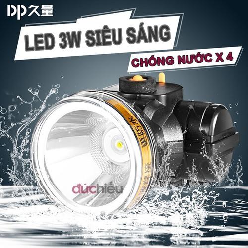 Đèn pin đội đầu siêu sáng chống nước DP-7227, đèn đội đầu, đèn đeo đầu, đèn đeo trán, đèn soi ếch - Đức Hiếu Shop - 7962619 , 17629233 , 15_17629233 , 48000 , Den-pin-doi-dau-sieu-sang-chong-nuoc-DP-7227-den-doi-dau-den-deo-dau-den-deo-tran-den-soi-ech-Duc-Hieu-Shop-15_17629233 , sendo.vn , Đèn pin đội đầu siêu sáng chống nước DP-7227, đèn đội đầu, đèn đeo đầu, đè