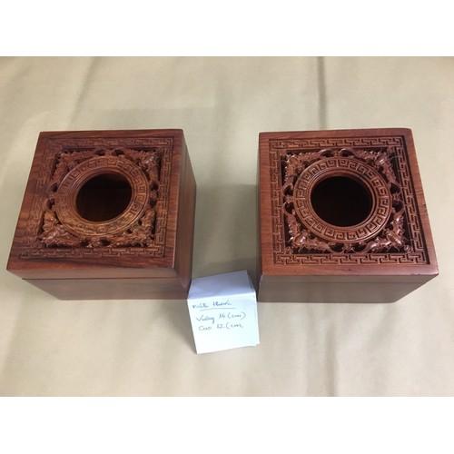 Hộp giấy ăn hình vuông chạm dơi gỗ hương - 7585357 , 17618794 , 15_17618794 , 150000 , Hop-giay-an-hinh-vuong-cham-doi-go-huong-15_17618794 , sendo.vn , Hộp giấy ăn hình vuông chạm dơi gỗ hương