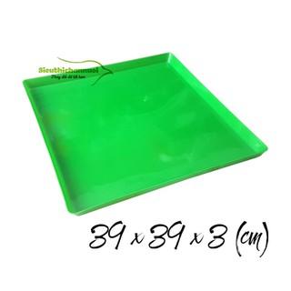 Set 20 Khay đựng phân bồ câu bằng nhựa 40 x 40 [ĐƯỢC KIỂM HÀNG] 17635695 - 17635695 thumbnail