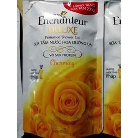 Túi Sữa tắm Enchanteur Charming 200g hàng tặng - túi en
