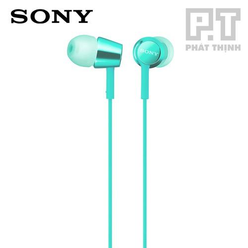 Tai nghe Sony MDR-EX155AP [Màu xanh ngọc] - CHÍNH HÃNG [Bảo hành chính hãng 12 tháng]