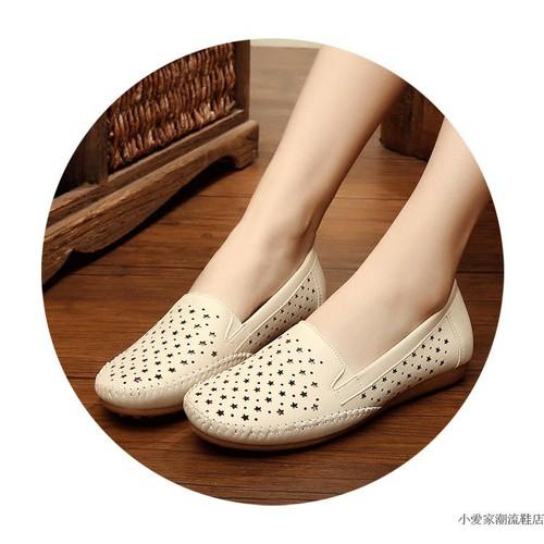 Giày lười, giày mọi nữ thời trang hè 2019