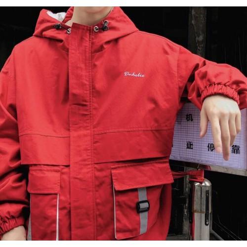 áo khoác hai túi lớn