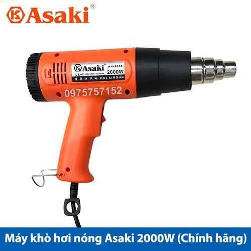 Máy khò hơi nóng Asaki 2000W AK-9013 - Bảo hành 3 tháng - Hàng công ty