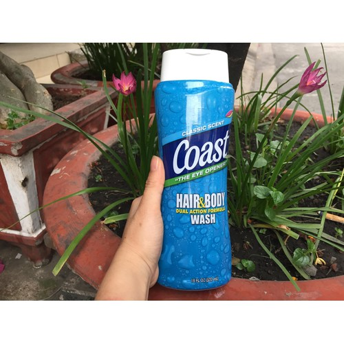 Sữa tắm gội COAST Mỹ 532 ml - dành cho Nam