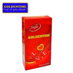 Bao cao su Goldentime hộp 10 chiếc